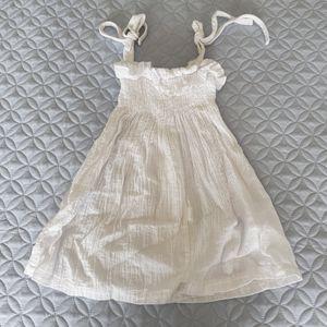 Baby/Toddler White Gauze Dress
